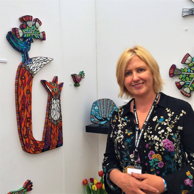 Contemporary Craft Fair - Mosaics by Amanda Anderson