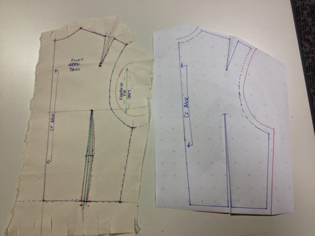 Dressmaking Workshop - paper and calico pattern