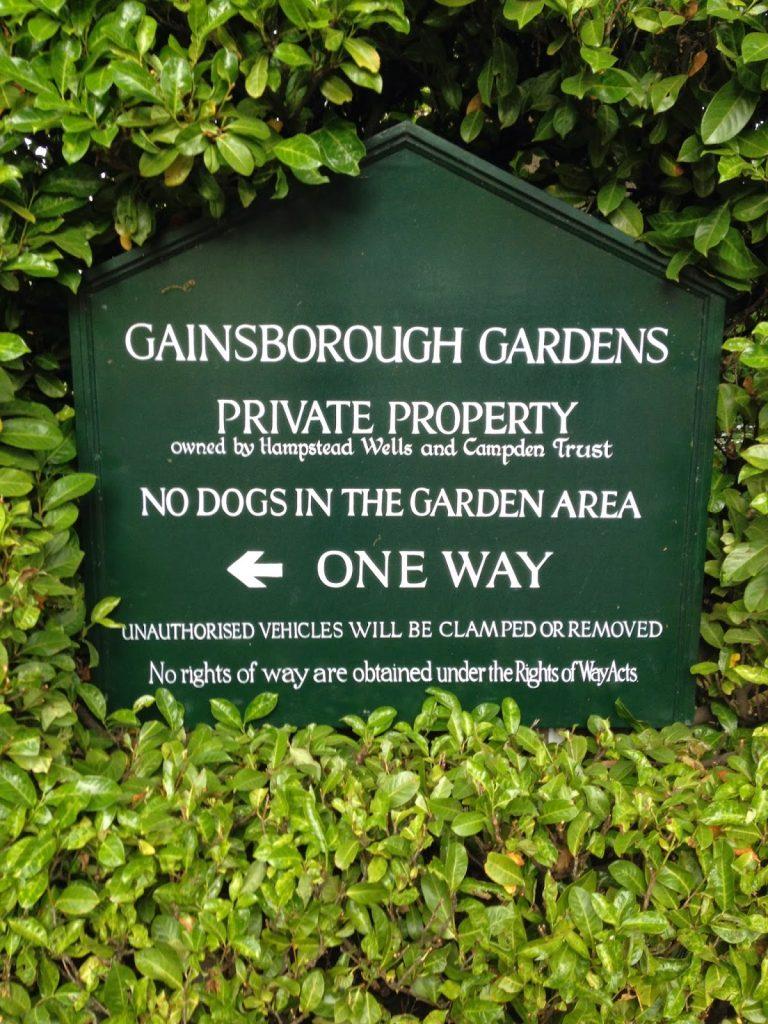 Open garden squares weekend - Hampstead garden