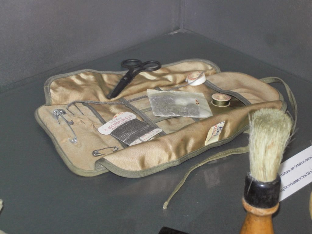 sewing kit belonging to an American G.I