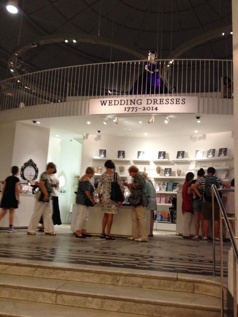 Victoria and Albert Museum wedding dress exhibition