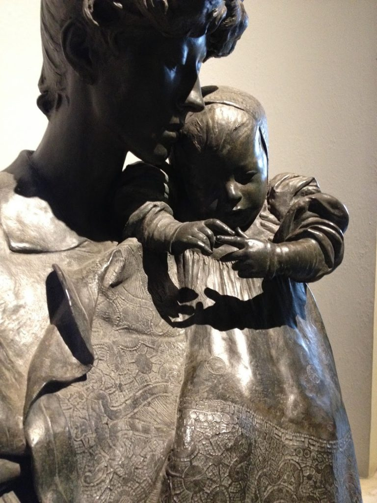 'Mother and Child' by Sir George Frampton