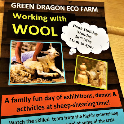 Green Dragon Eco Farm Working With Wool Poster