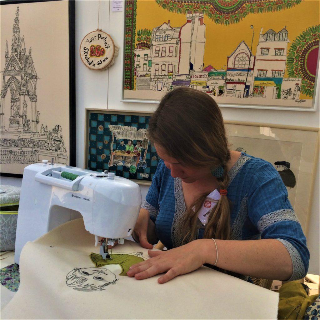 Childwickbury Arts Fair 2018 - Harriet Riddell