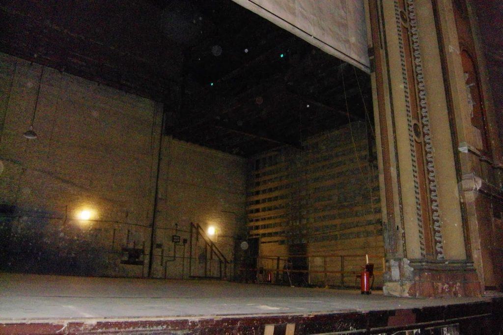 Alexandra Palace - Secret Theatre stage