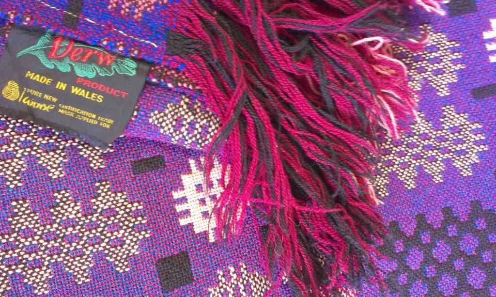 vintage blanket - welsh blanket