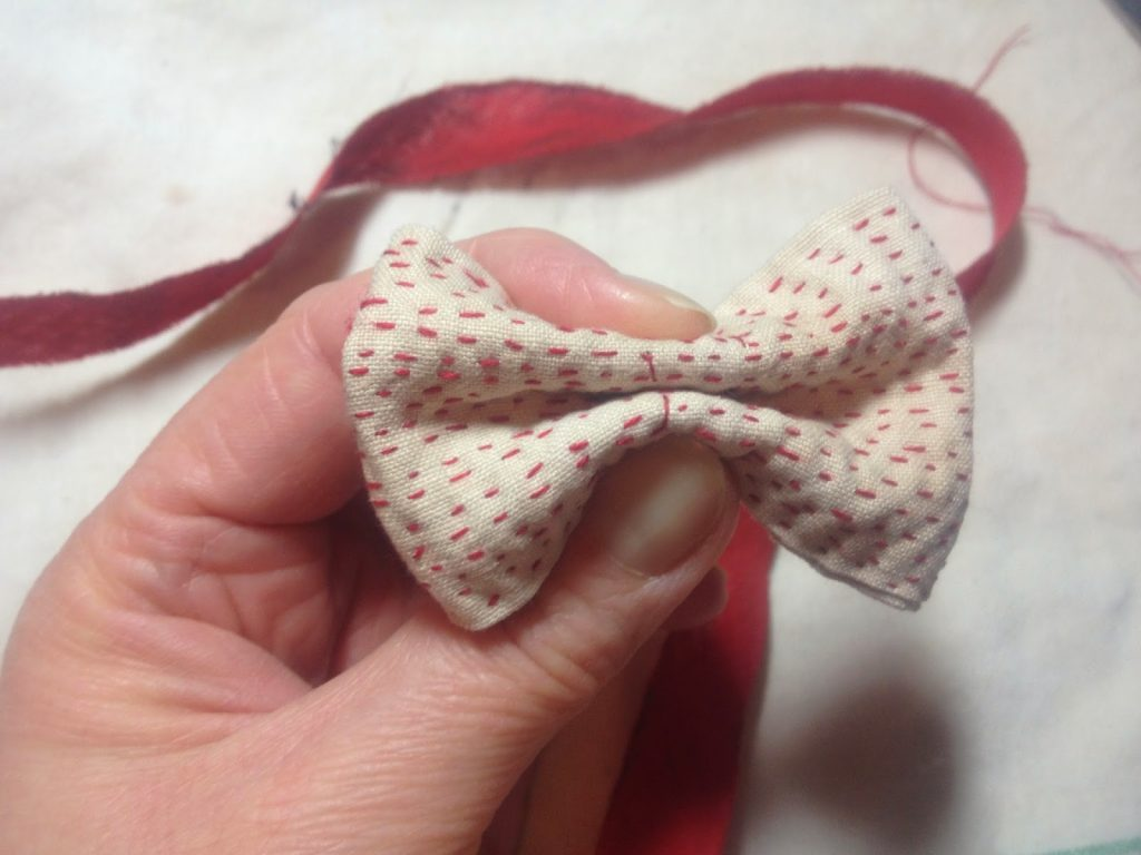 little red bow - finishing touches
