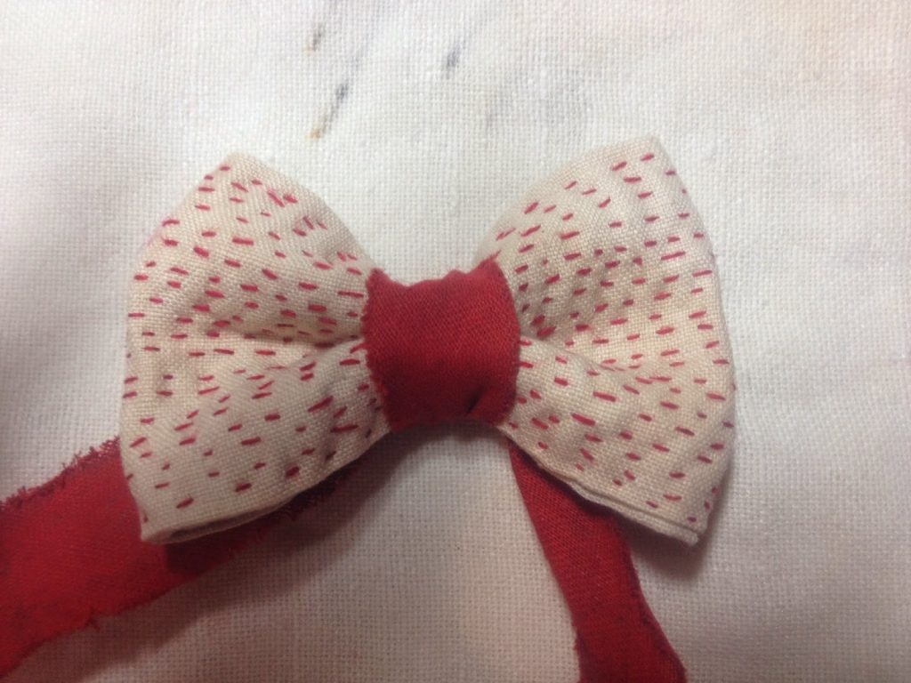 My little red bow.