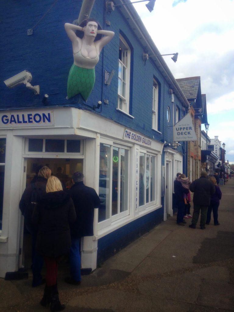 Aldeburgh chip shop