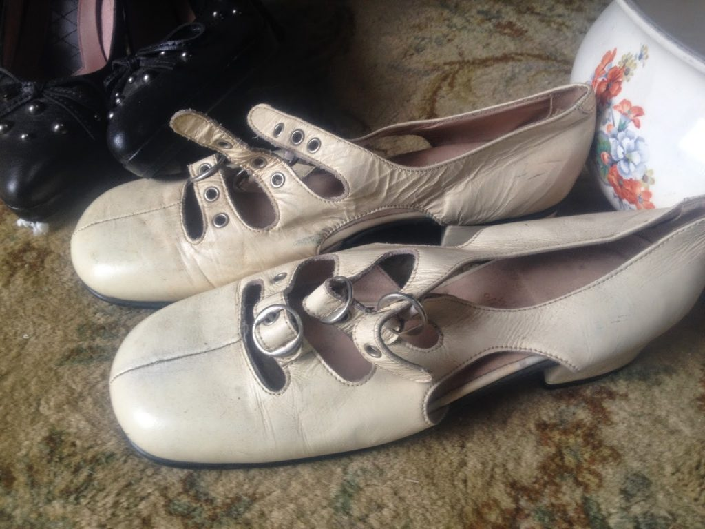 Inspiration in old shoes