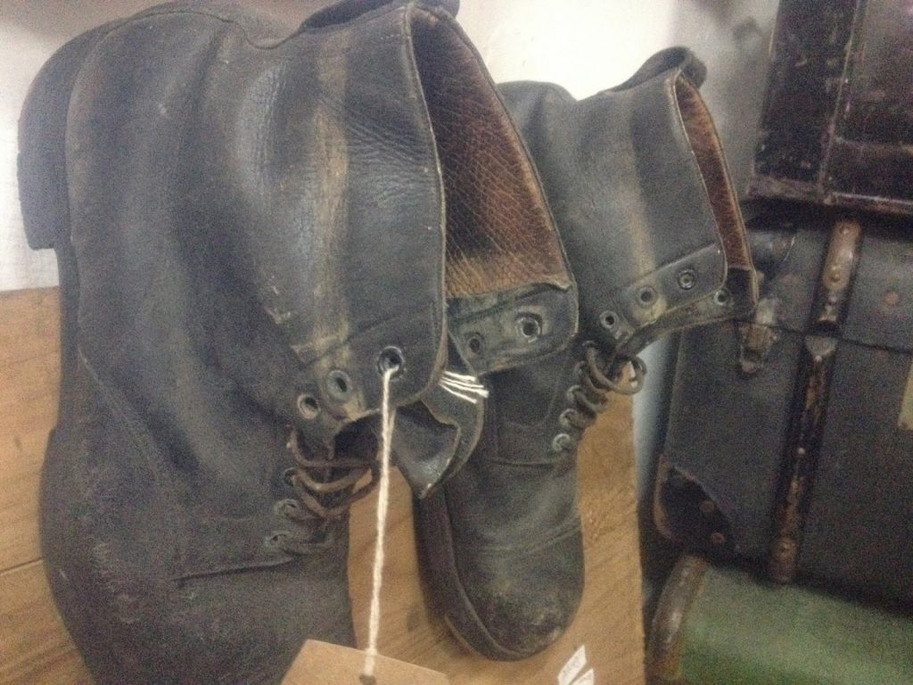 Inspiration in old boots