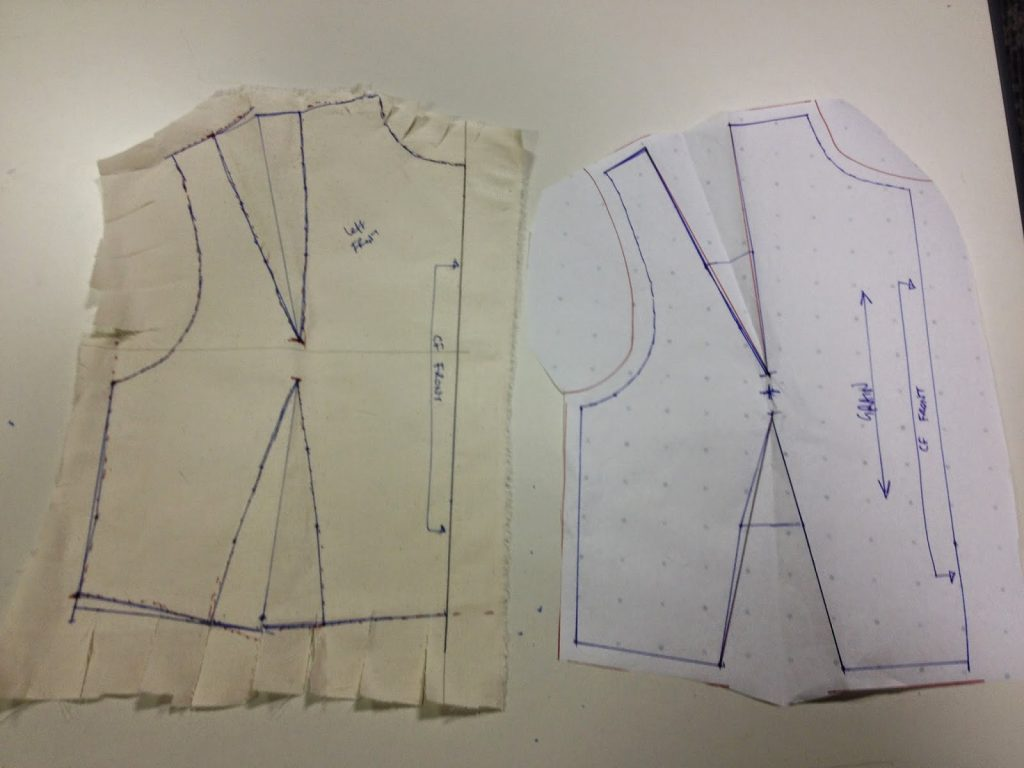 Dressmaking Workshop - paper and calico pattern