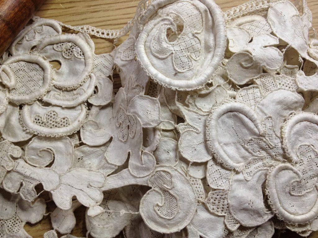 Textile treasure - Saltaire Mill Bobbin and needle lace
