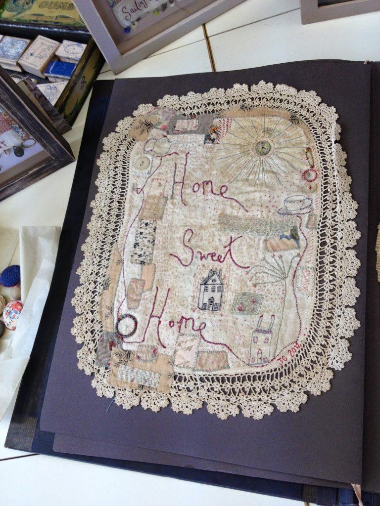 Jessie Chorley Stitched panel