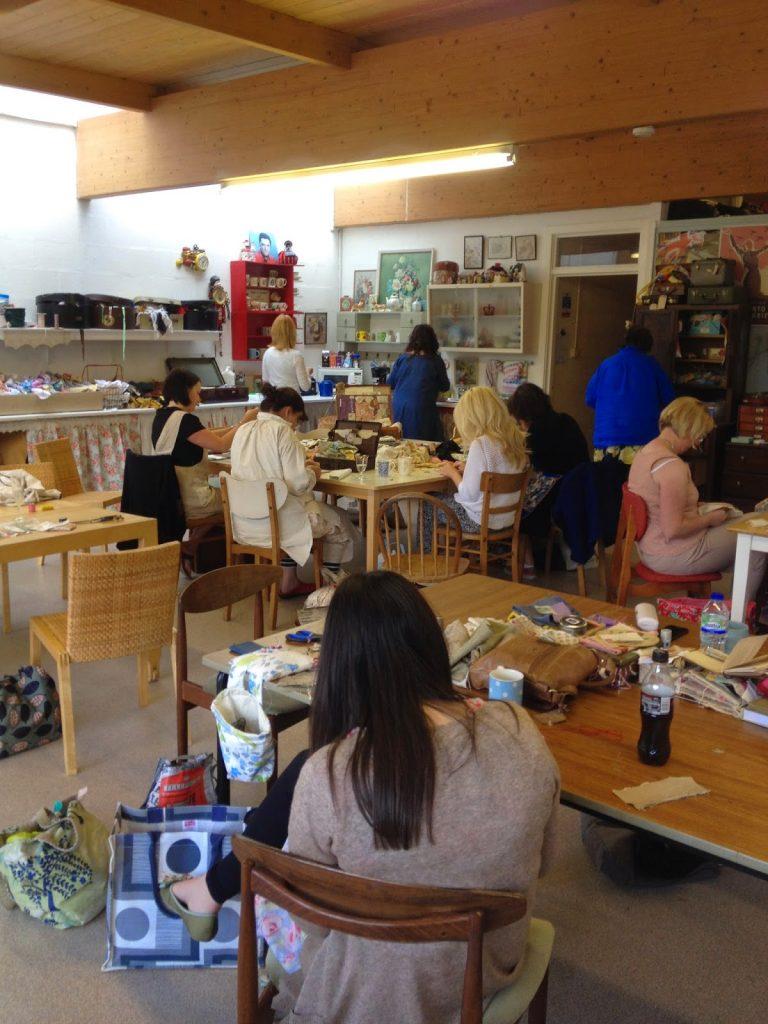 students Stitching