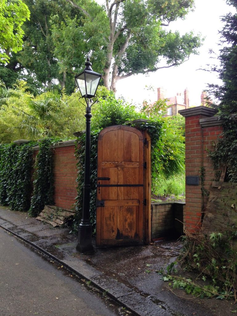 Open garden squares weekend - Hampstead garden gate