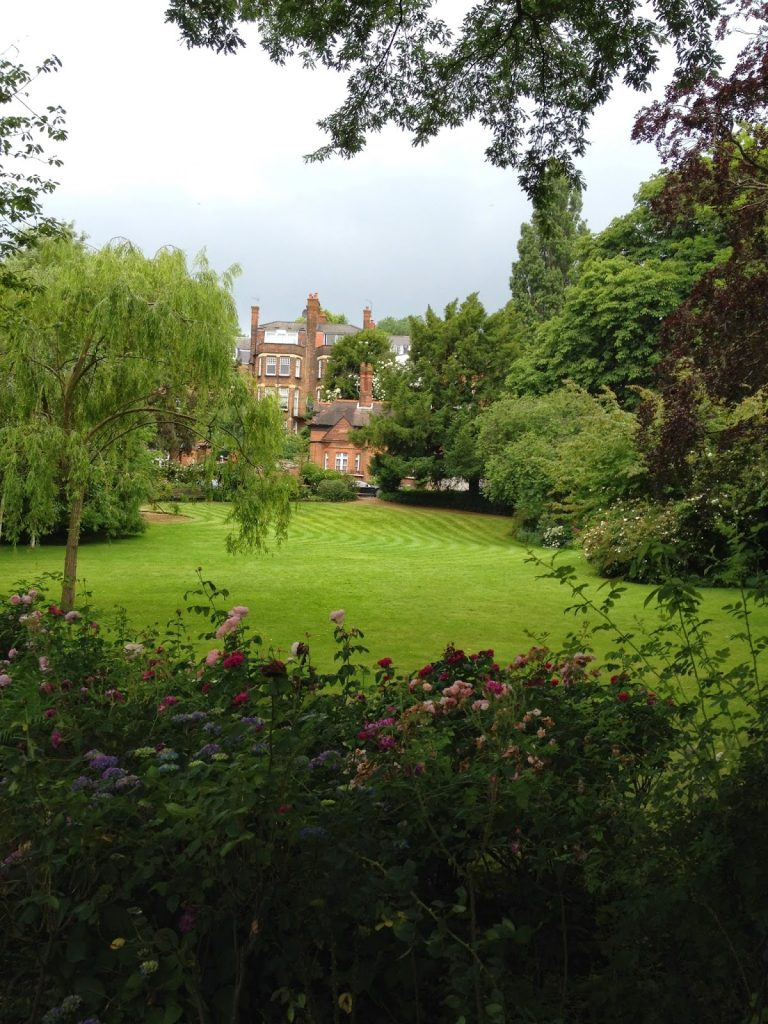 Open garden squares weekend - Hampstead garden