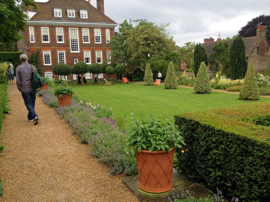 Open garden squares weekend - FEnton House, Hampstead garden
