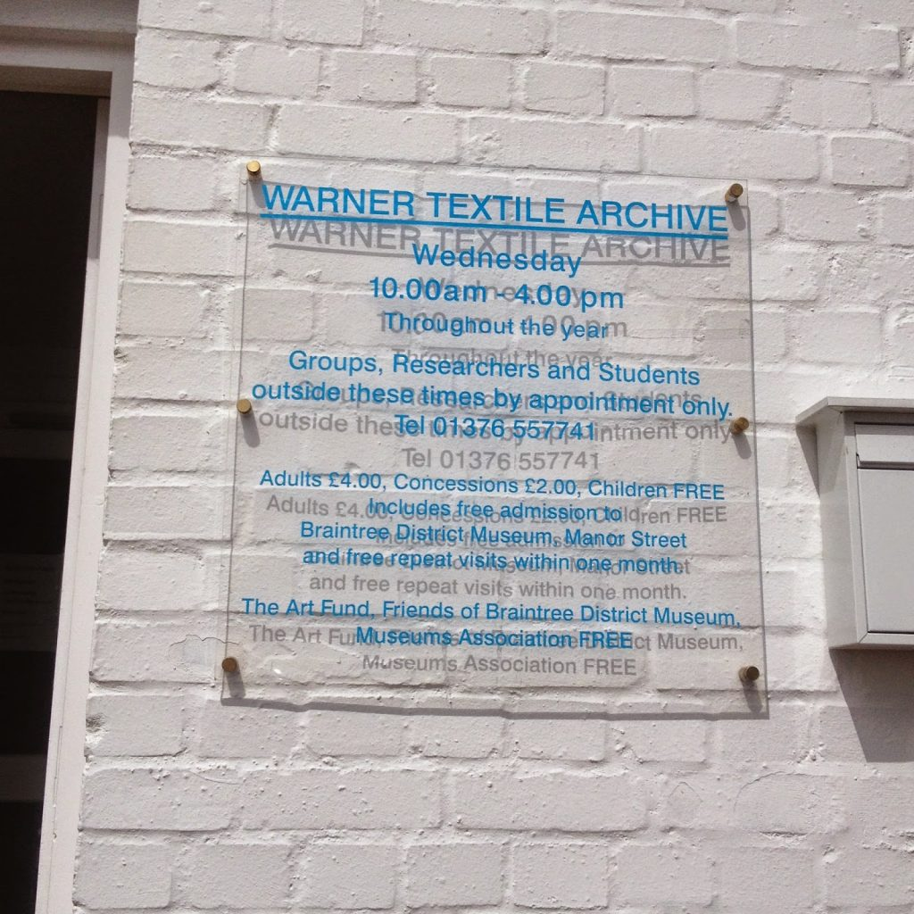 Warner Textile Archive