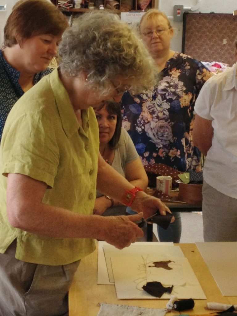 janet bolton demonstrated her sewing method