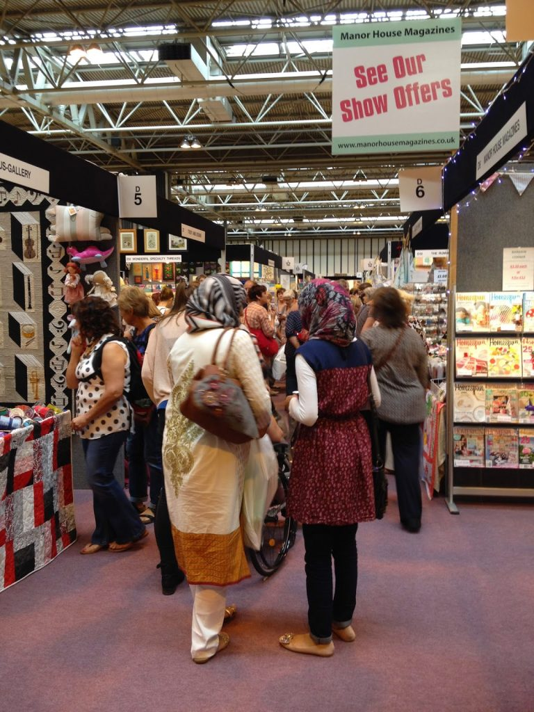 The Festival of Quilts 2014 shopping