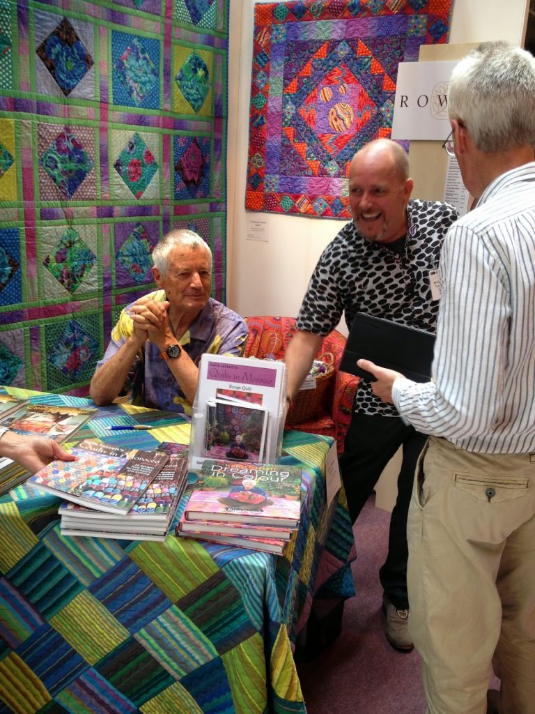 Kaffe Fasset and Bandon Mably on the Cotton Patch Stand