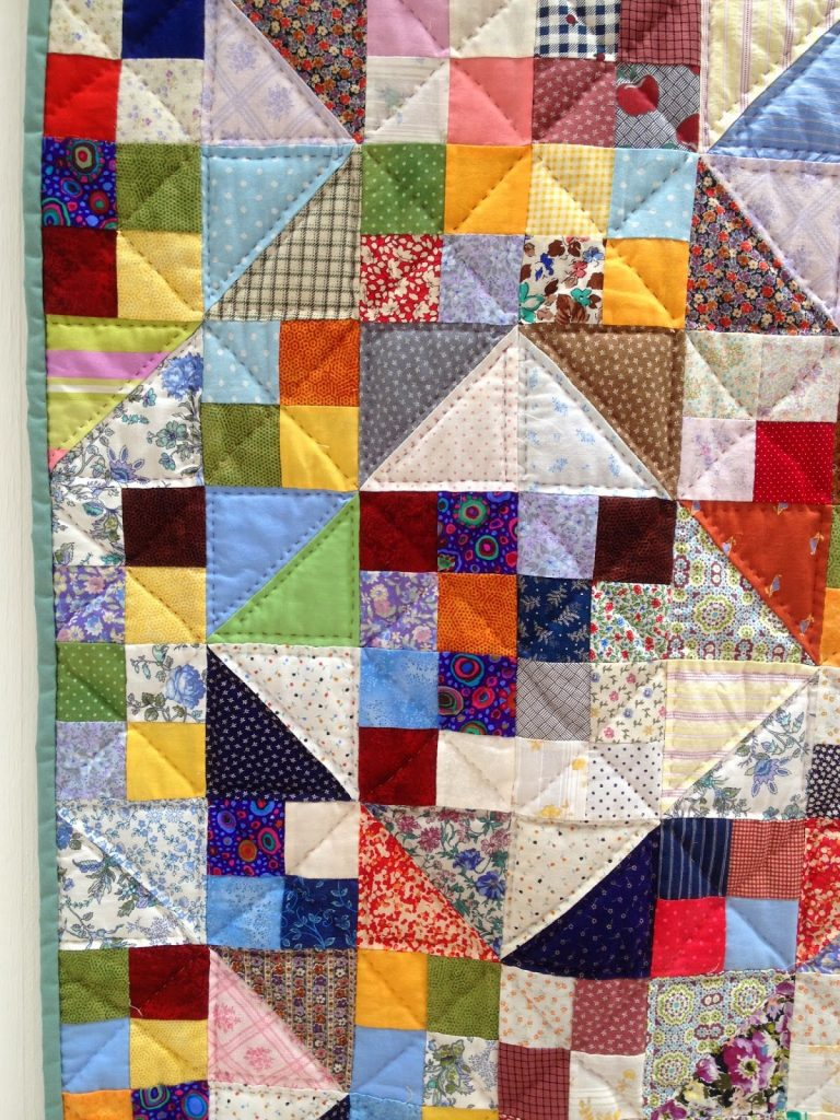 The Festival of Quilts - Traditional Quilts - squares and triangles