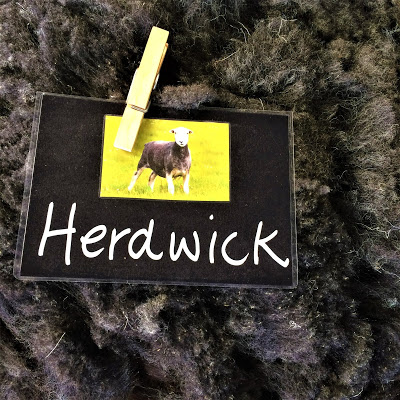 Herdwick Sheep Label and Fleece
