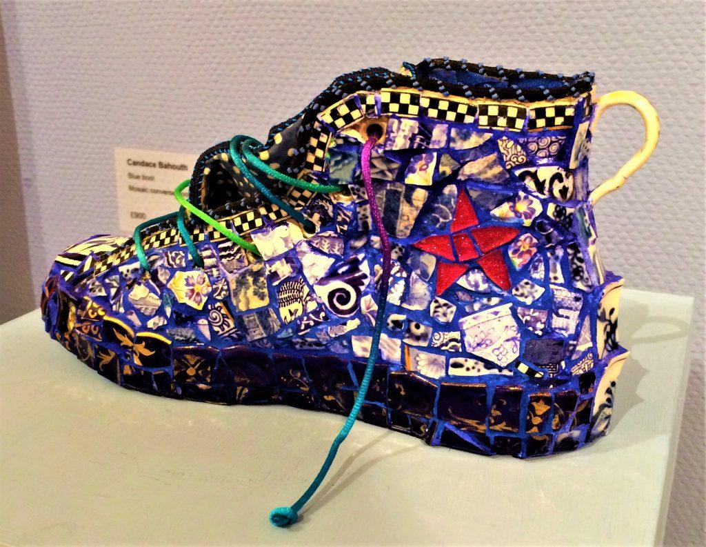 Candace Bahouth mosaic shoe
