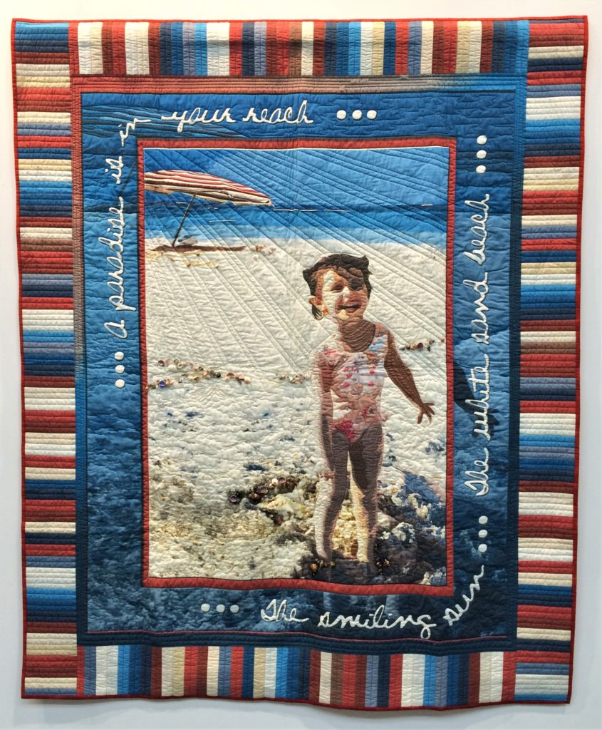 Festival of Quilts 2018 - Winners Quilt - Two Person Quilt - Julie Brandon & Valerie Schultz