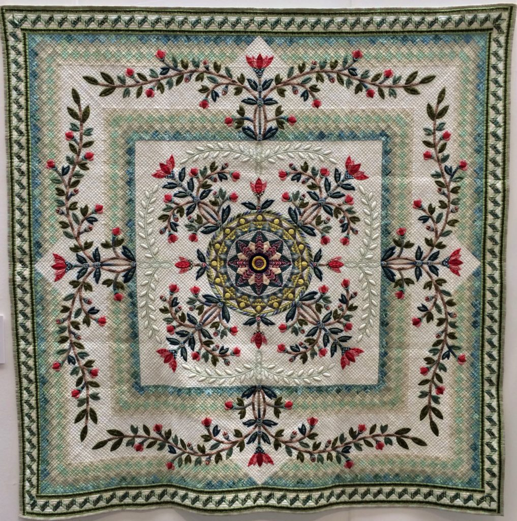 Festival of Quilts 2018 - The 14th Quilt Nihon Exhibition Gallery - Yumiko Takami