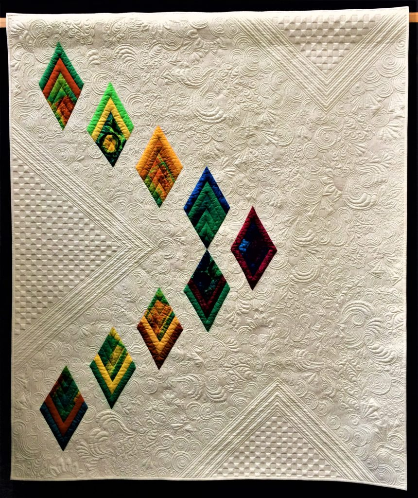 Festival of Quilts 2018 - Two person Quilt - Teresa Pino & Pat Lang