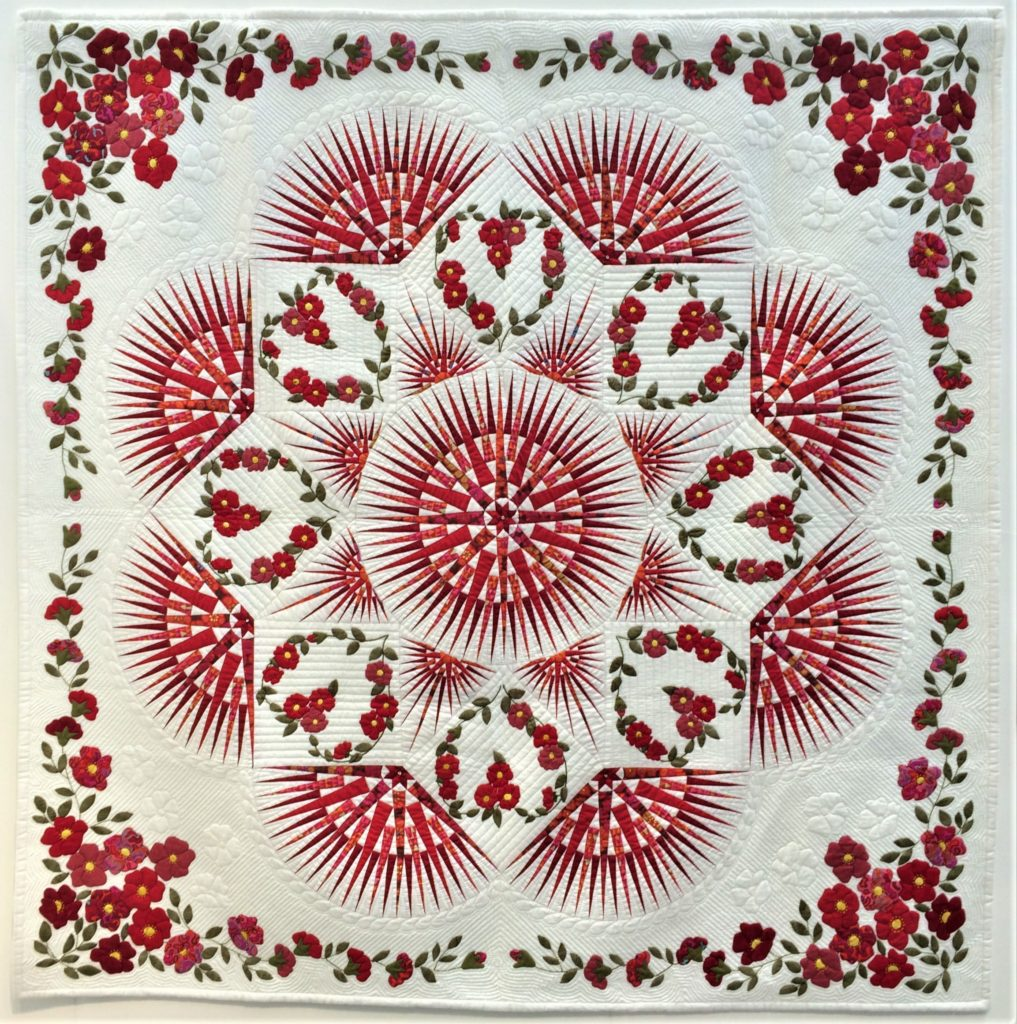 Festival of Quilts 2018 - The 14th Quilt Nihon Exhibition Gallery - Fusako Yamada