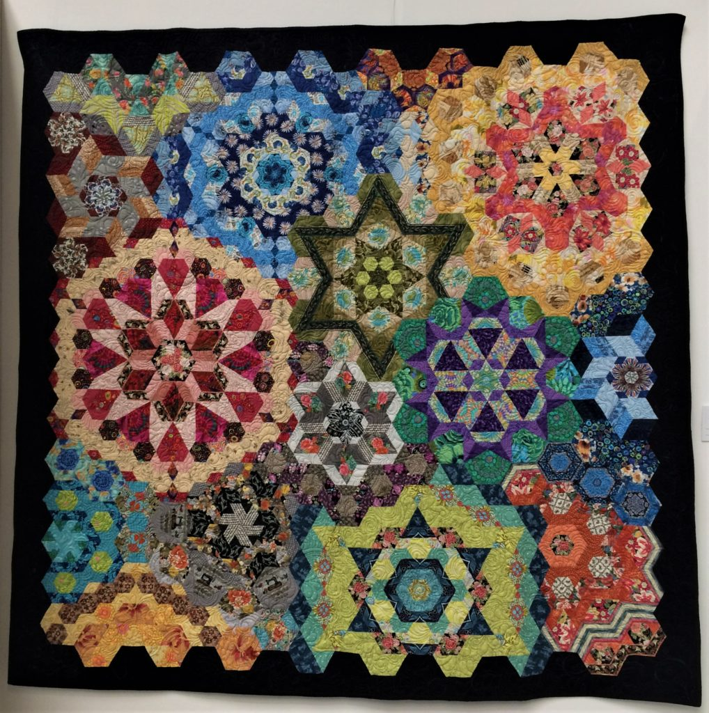 Festival of Quilts 2018 - Two Person Quilt - Sue Hicks & Telene Jeffrey