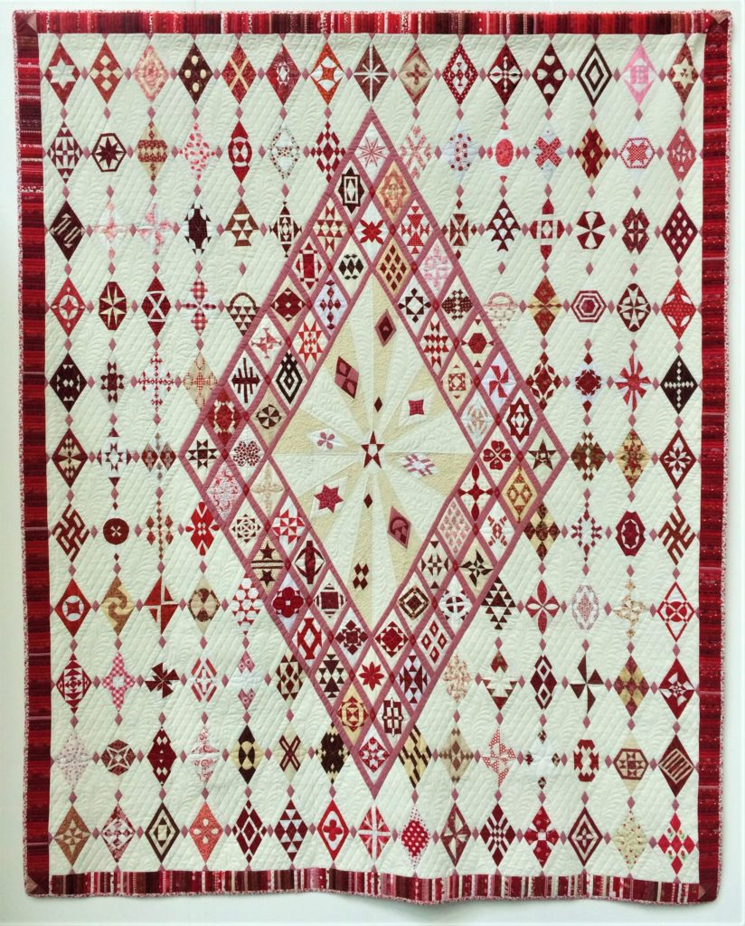 Festival of Quilts 2018 - Two person Quilt - Leisbeth Manders & Anne Lillholm Jorgerson