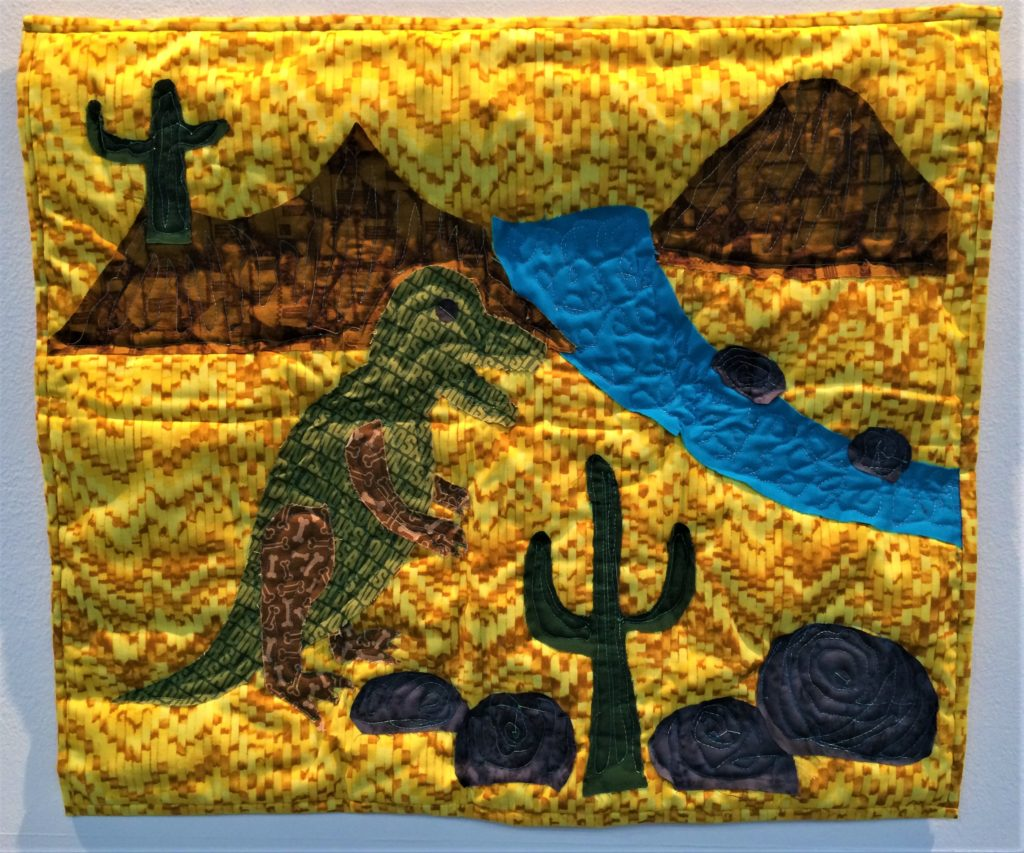 Festival of Quilts 2018 - Winners Quilt - Young Quilter 5-9 - Basile Tharel