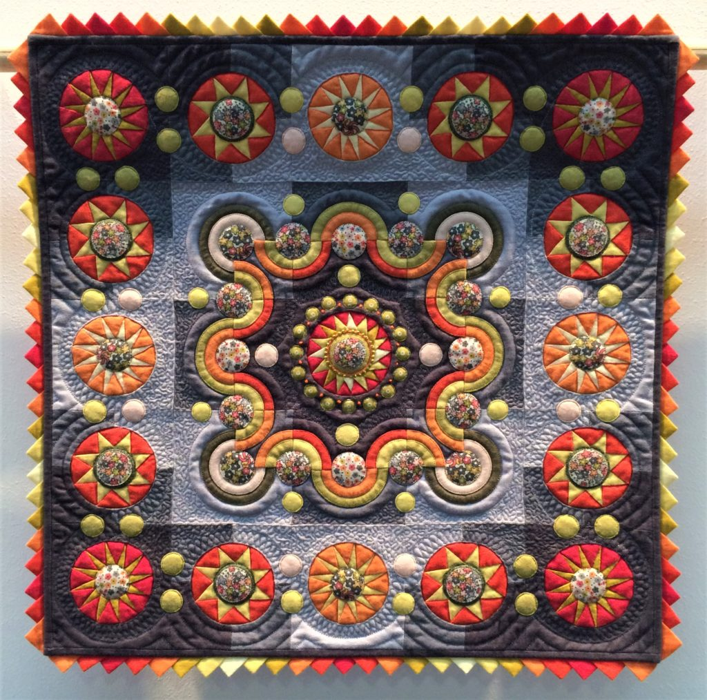 Festival of Quilts 2018 - Winners Quilt - Miniature Quilt - Philippa Naylor