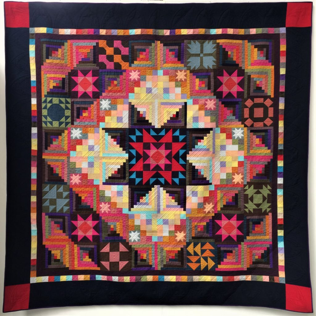 Festival of Quilts 2018 - Two person Quilt - Janette Chilver & Svetlana King