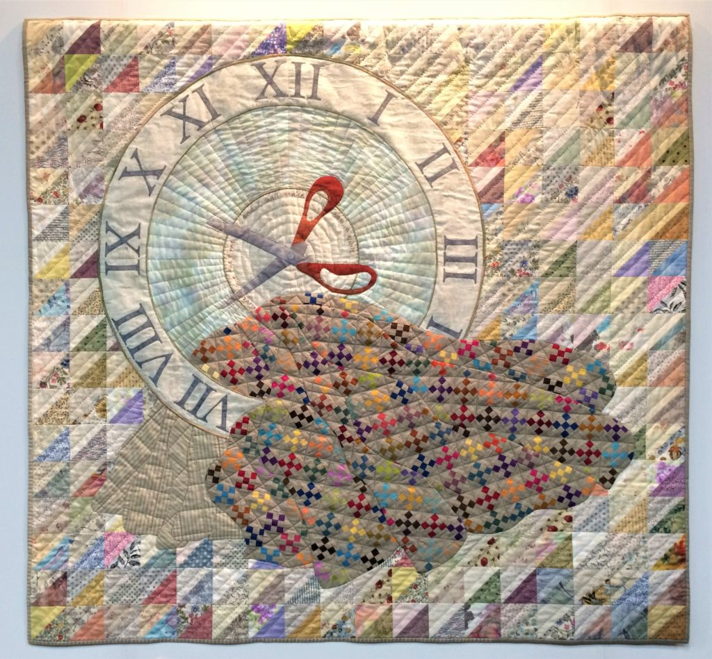 Festival of Quilts 2018 - Winners Quilt - The Quilter's Guild Challenge - Mary Mayne