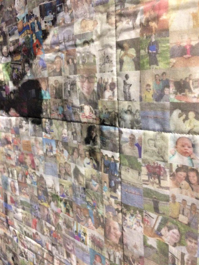 Festival of Quilts 2018 - Contemporary Quilt - Karen Swiech - detail from the quilt