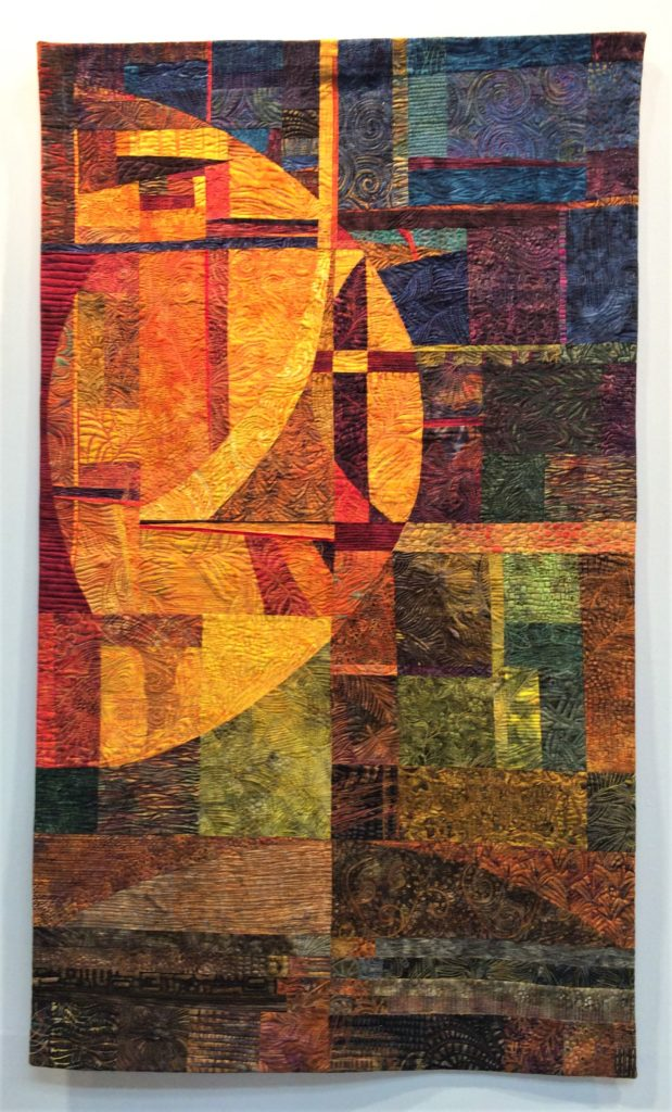 Festival of Quilts 2018 - Winners Quilt - Contemporary Quilt - Laima Whitty