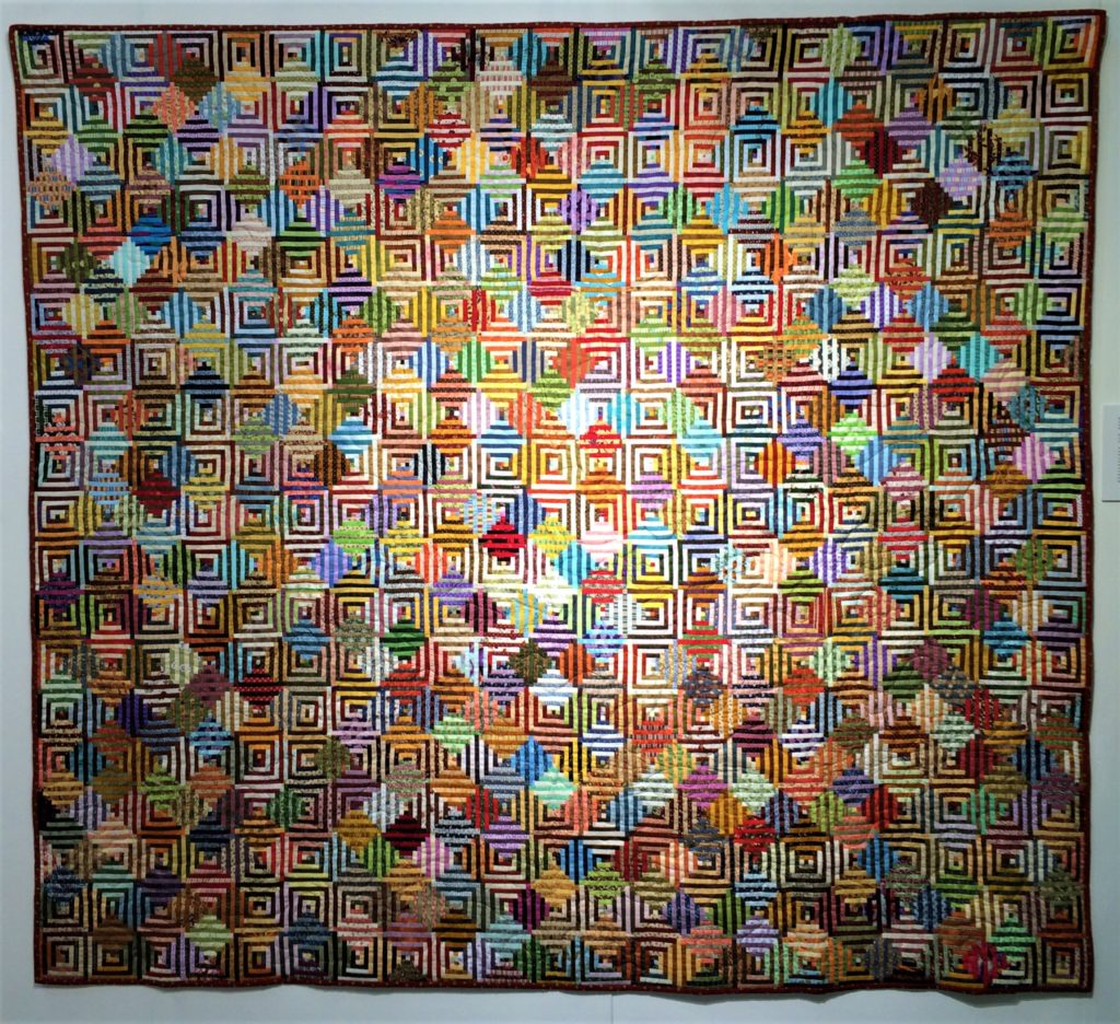 Festival of Quilts 2018 - EQA Diversity Exhibition Gallery - Mariella Andreotti