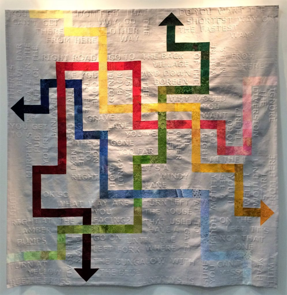 Festival of Quilts 2018 - Winners Quilt - Modern Quilt - Mary Palmer