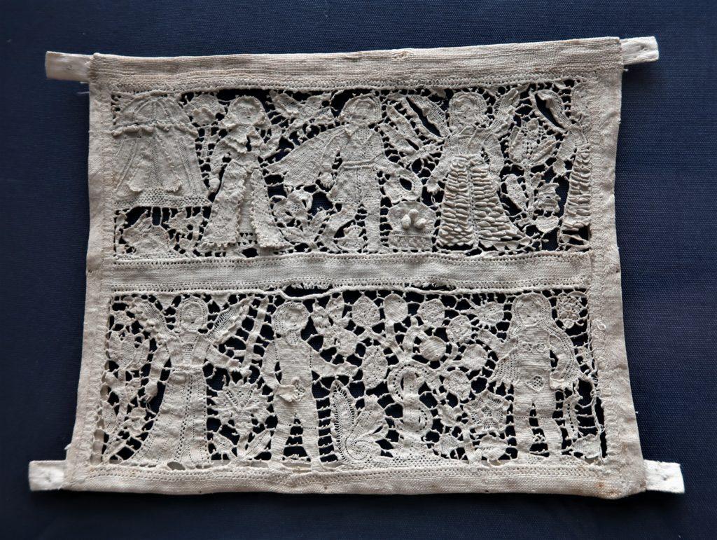 English 17th Century Whitework Needlework Samplers. Fitzwilliam Museum, Cambridge, England.