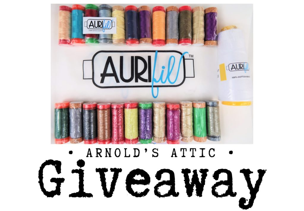 If you like threads, head over to my Facebook Page and take part in my Thread Giveaway. (ends 28th May 2019 at 10pm GMT).