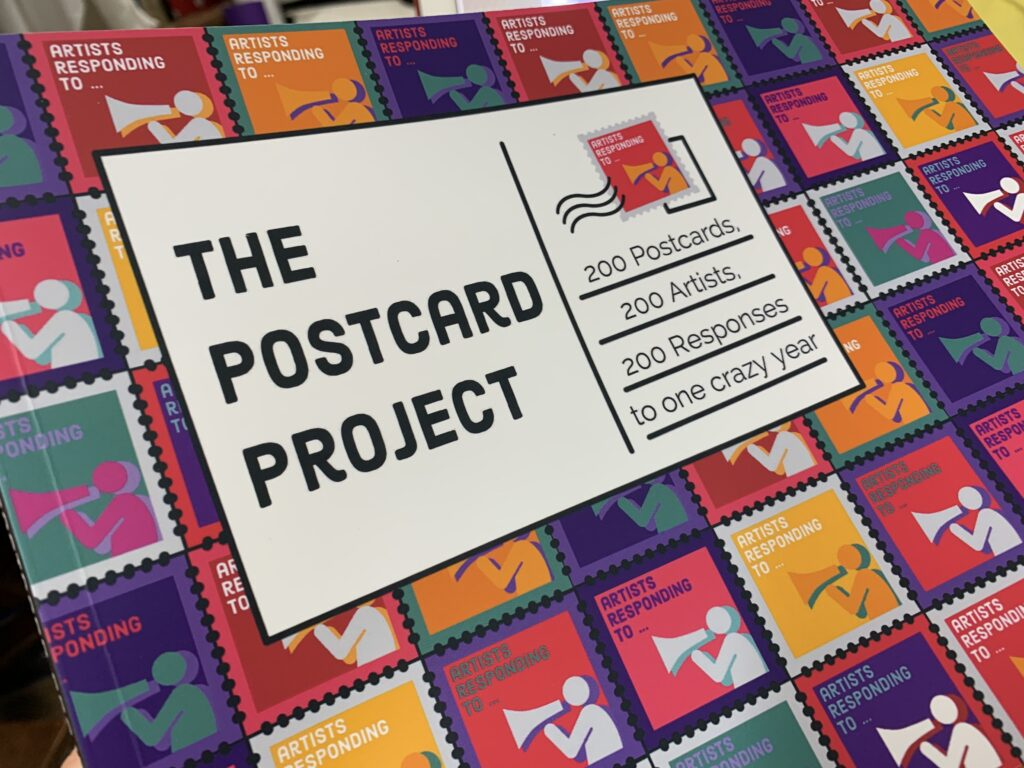 'Artists Responding To' Postcard Project Book