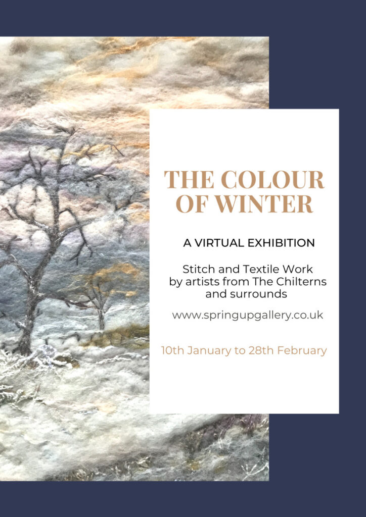 The Colour of Winter Exhibition Poster