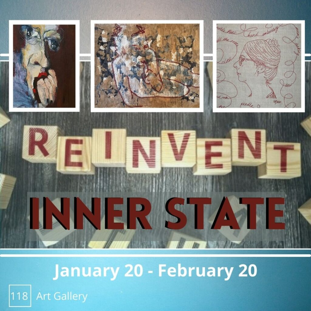Gallery 118 Re-Invent poster