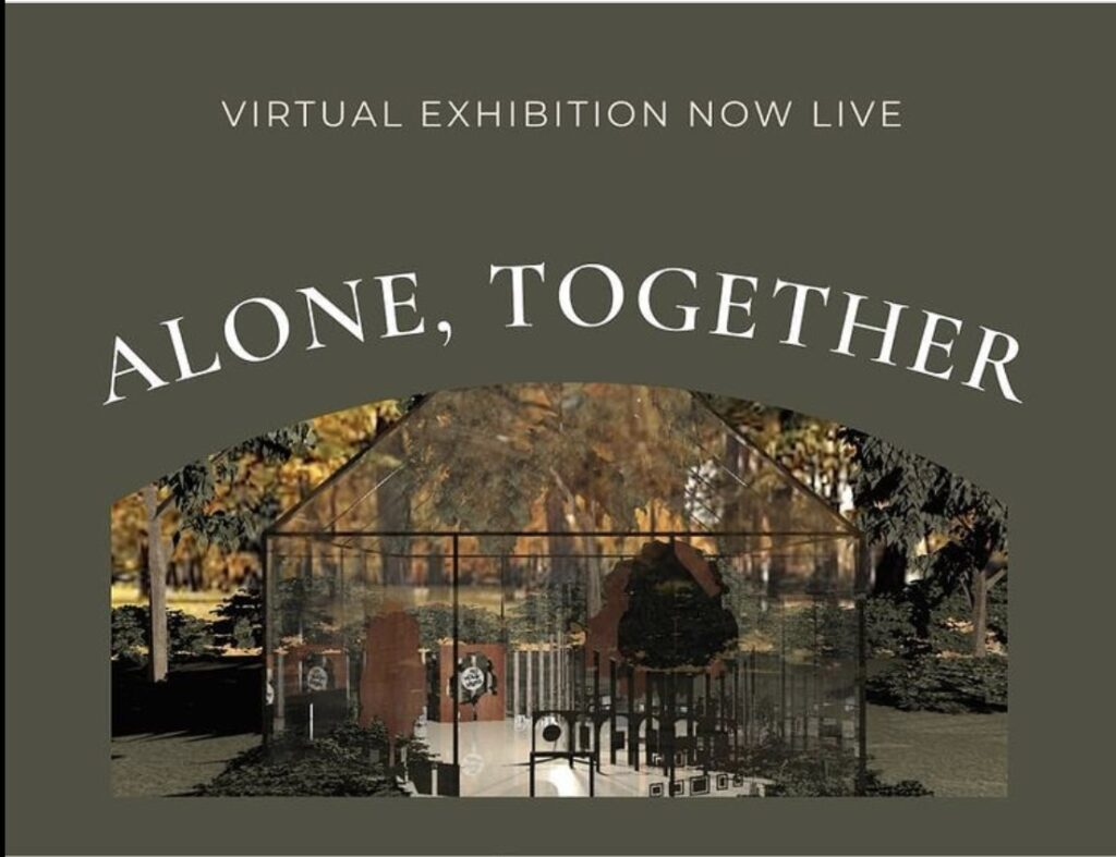 Alone Together exhibition poster