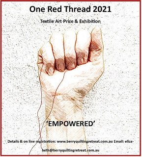 One Red Thread Exhibition Poster